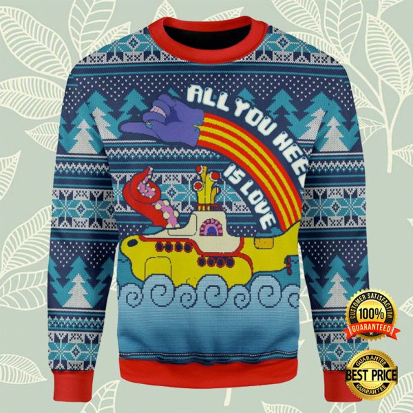 Lgbt All You Need Is Love Ugly Sweater 3