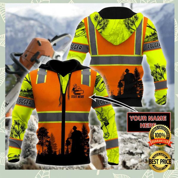 LOGGING SAFETY ALL OVER PRINTED 3D HOODIE 3