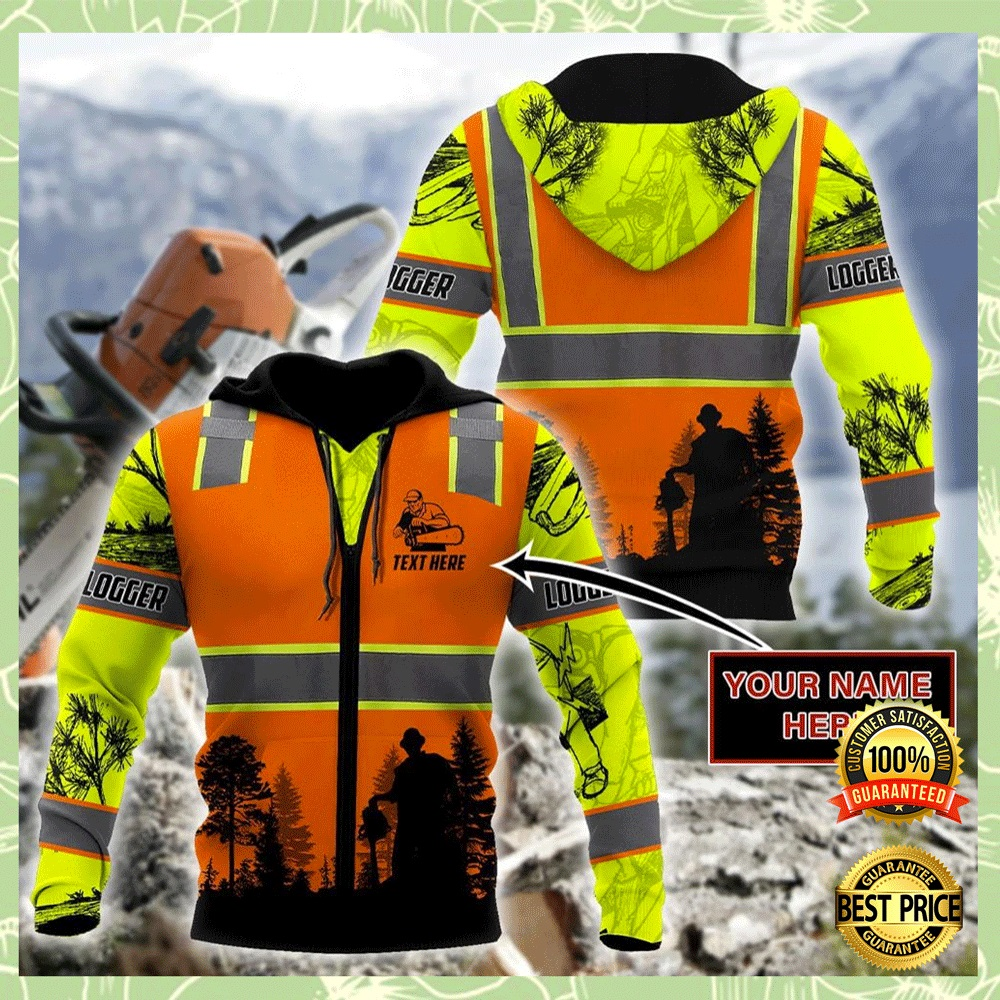 LOGGING SAFETY ALL OVER PRINTED 3D HOODIE 4