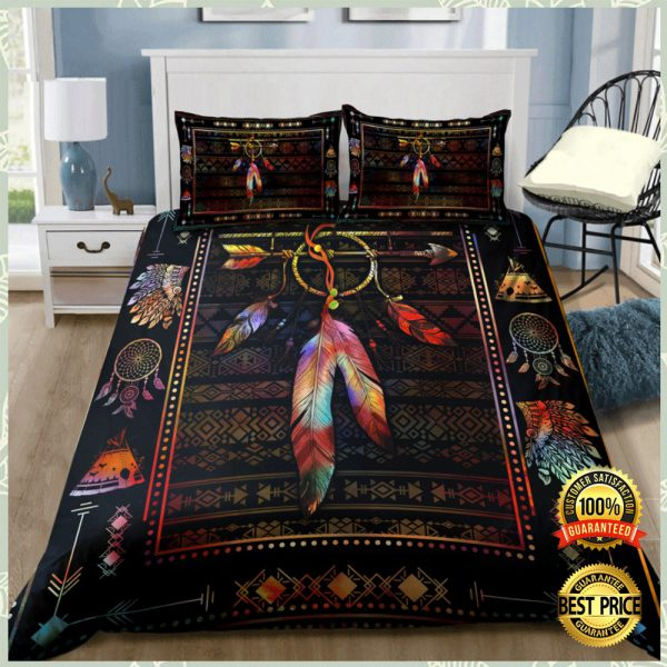 NATIVE AMERICAN FEATHER BEDDING SET 3
