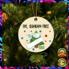 Oh Quaran-Tree 2020 Christmas Ornament 1