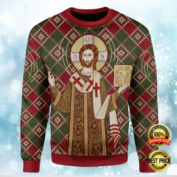 ORTHODOX CHRISTIANITY UGLY SWEATER 3
