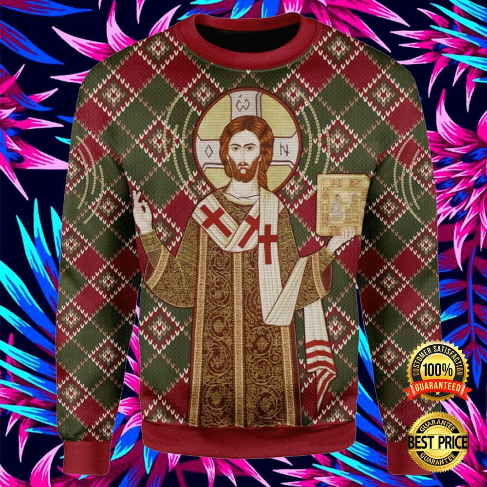 ORTHODOX CHRISTIANITY UGLY SWEATER 4