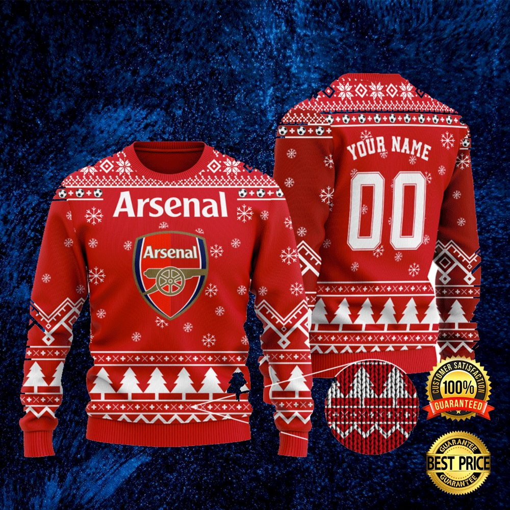 Personalized Arsenal Ugly Sweater 4