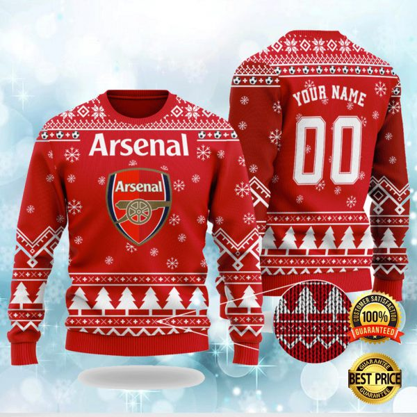 Personalized Arsenal Ugly Sweater 3