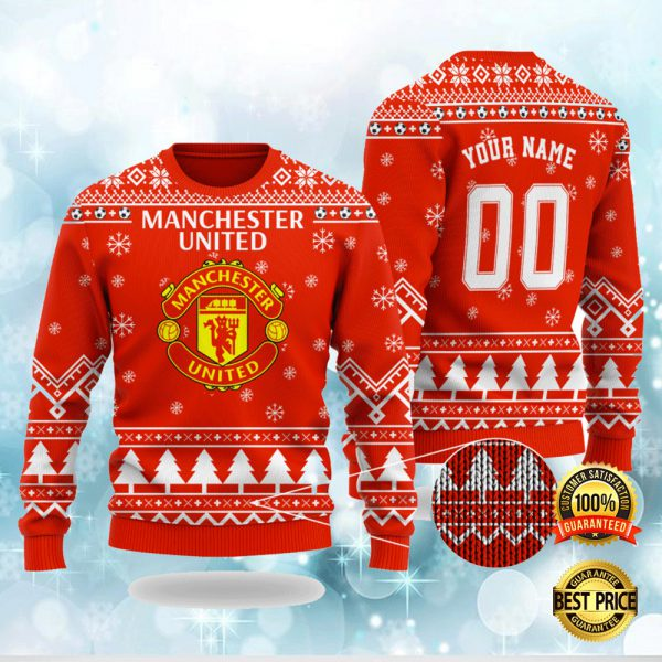 PERSONALIZED MANCHESTER CITY UGLY SWEATER 3