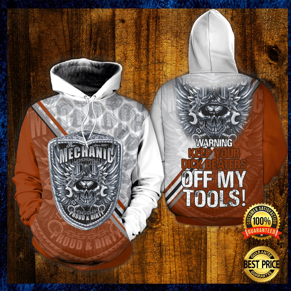The Mechanic Proud And Dirty All Over Printed 3d Hoodie 4