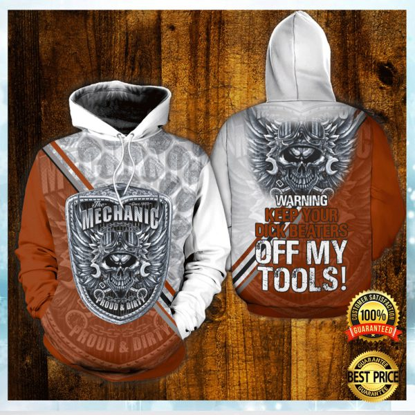 The Mechanic Proud And Dirty All Over Printed 3d Hoodie 3