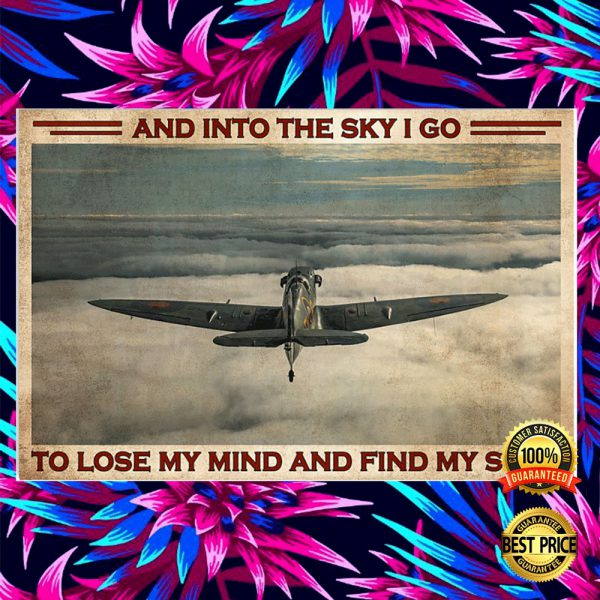 And Into The Sky I Go To Lose My Mind And Find My Soul Poster 3