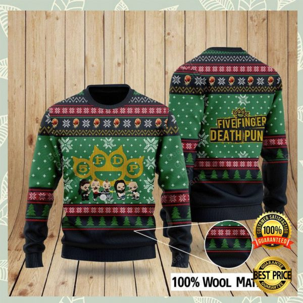 Five Finger Death Punch Ugly Sweater 3