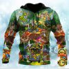 Eagle Confederate Battle Flag All Over Printed 3d Hoodie 1