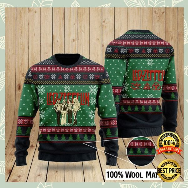 Led Zeppelin Ugly Sweater 3