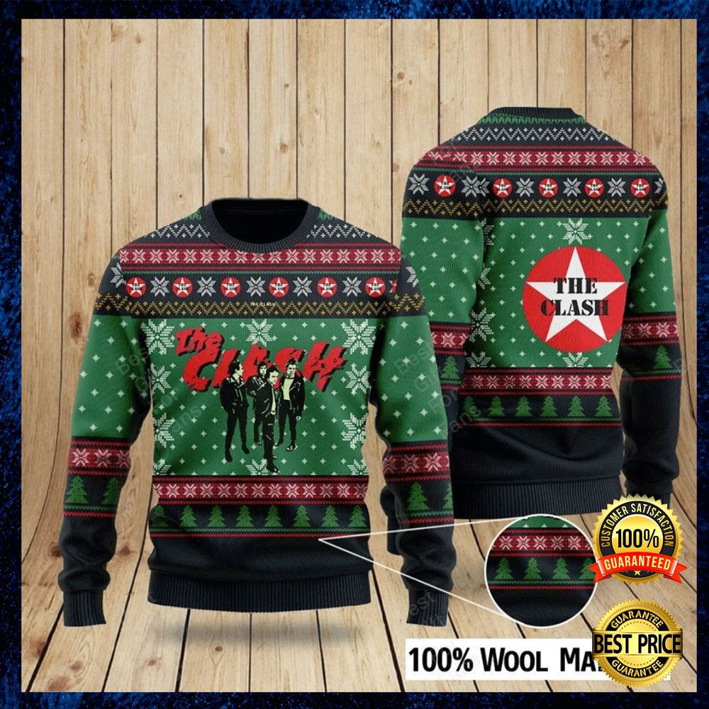THE CLASH UGLY SWEATER 4