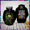 Weed I Don't Speak Much Because I'm Brilliant And I'm Busy Thinking All Over Printed 3d Hoodie 1