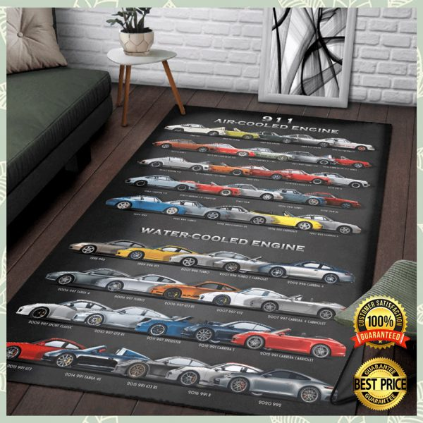 911 Air Cooled Engine Rug 3