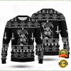 BAPHOMET CROSS INVERTED UGLY SWEATER 2