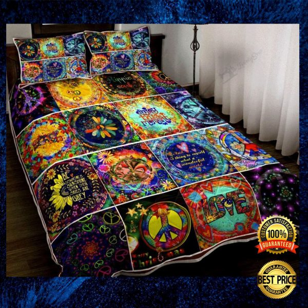Hippie Things Bedding Set 3