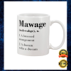Mawage A Bwessed Awangement A Dweam Wifin A Dweam Mug 2