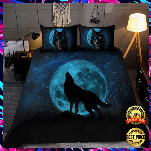 Moon And Wolf Bedding Set 3