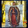 Our Lady Of Guadalupe Blanket 1