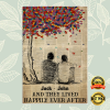 Personalized LGBT and they lived happily ever after poster 1