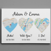 PERSONALIZED HELLO WILL YOU I DO CANVAS 1