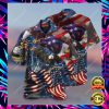 AMERICAN PATRIOTIC EAGLE HAWAIIAN SHIRT 1