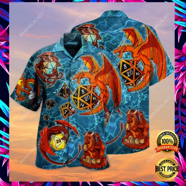 DRAGON DICE HAWAIIAN SHIRT 3
