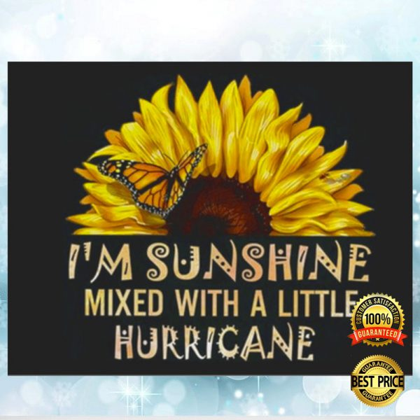 I'M SUNSHINE MIXED WITH A LITTLE HURRICANE STICKER 3