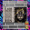 LION I AM THE SON OF THE KING POSTER 1