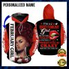 PERSONALIZED I'M A SWEET FEBRUARY GIRL ALL OVER PRINTED 3D HOODIE 2