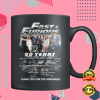 20 YEARS OF FAST AND FURIOUS MUG 1