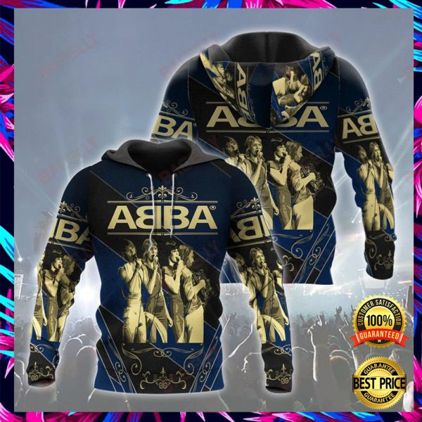 ABBA ALL OVER PRINT 3D HOODIE 3