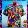 COLORFUL DOBERMAN PINSCHER HAWAIIAN SHIRT 1