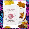 DEAR MUMMY THIS MOTHER'S DAY I'M SNUGGLED WARM AND SAFE IN YOUR TUMMY MUG 1