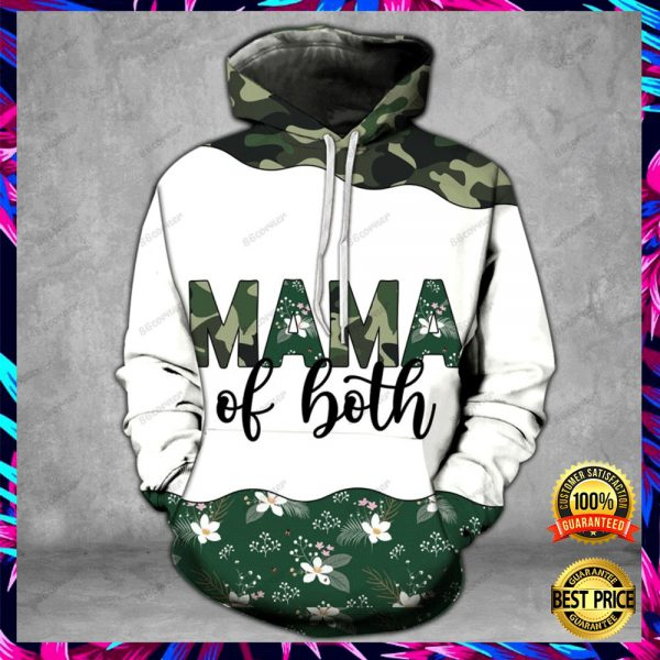 MAMA OF BOTH CAMO ALL OVER PRINTED 3D HOODIE, LEGGING AND TANK TOP 3