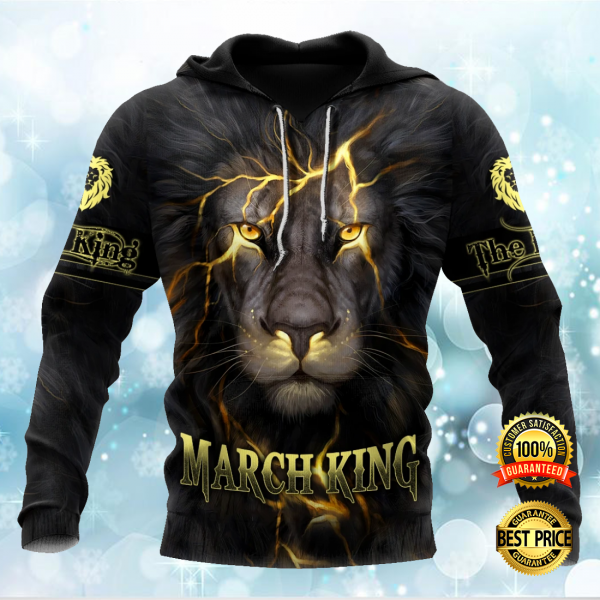 MARCH LION KING ALL OVER PRINTED 3D HOODIE 3