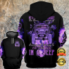 NEVER UNDERESTIMATE THE THERAPEUTIC POWER OF DRIVING AND LISTENING TO VERY LOUD MUSIC IN A JEEP ALL OVER PRINTED 3D HOODIE 1