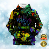 PAINT 420 VIBES ALL OVER PRINTED 3D HOODIE 1