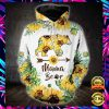 SUNFLOWER MAMA BEAR ALL OVER PRINT 3D HOODIE AND LEGGING 2