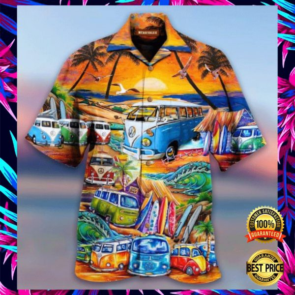 VOLKSWAGEN AND INTO THE OCEAN I GO TO LOSE MY MIND AND FIND MY SOUL HAWAIIAN SHIRT 3
