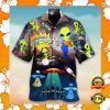 ALIEN PLAYING MUSIC HAWAIIAN SHIRT 2
