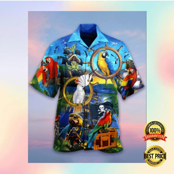 PARROT PIRATE HAWAIIAN SHIRT 3