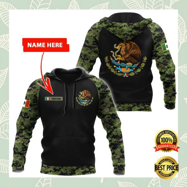 PERSONALIZED MEXICAN COAT CAMO ALL OVER PRINTED 3D HOODIE 3