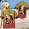 I just wanna drink beer and hang with my golden retriever hawaiian shirt and short