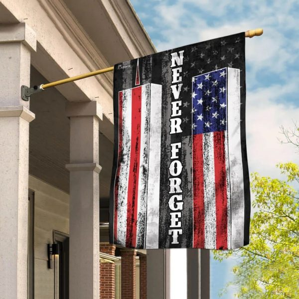 Patriot Day 911 Never Forget American Flag